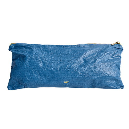 Hay Packing Essentials bag with zip, M, dusty blue