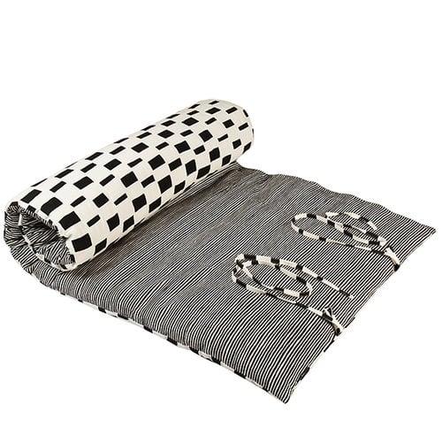 Marimekko Varvunraita/Iso Noppa roll-up mattress