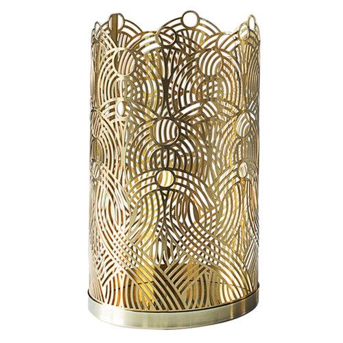 Skultuna Lunar candleholder, large, brass