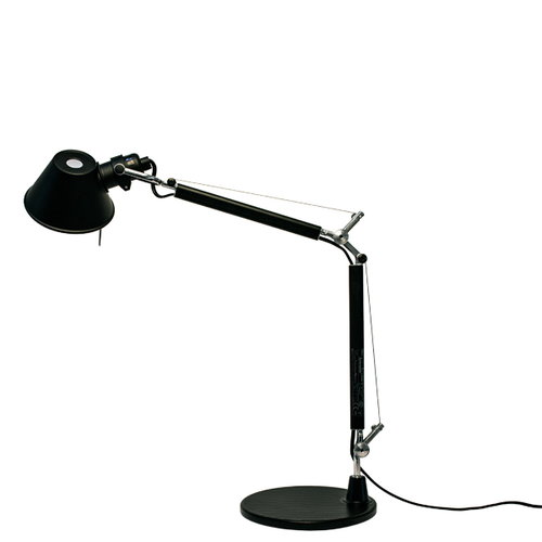 Artemide Tolomeo Micro table lamp, black