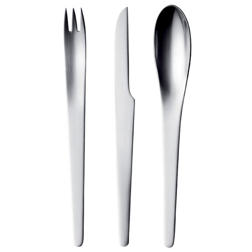 Georg Jensen Arne Jacobsen cutlery set, 24 parts