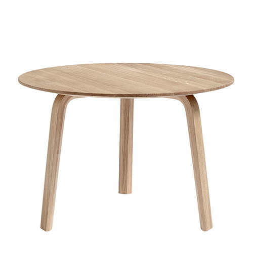 Hay Bella coffee table 60 cm, high, matt lacquered oak
