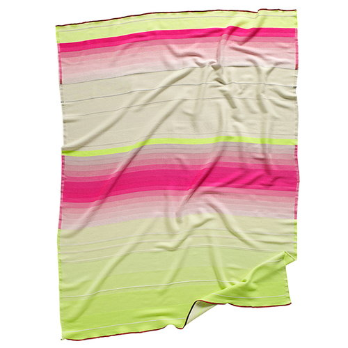 Hay Colour Plaid No.7 throw