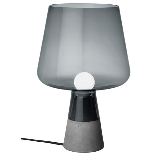 Iittala Leimu table lamp 38 cm, grey