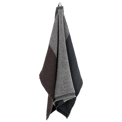 Lapuan Kankurit Terva giant towel, black-multi-brown