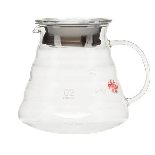Hario Hario coffee server 600 ml, clear