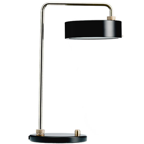 Made By Hand Petite Machine table lamp, black