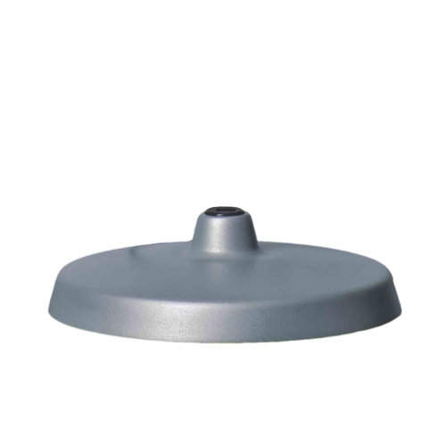 Luxo Base for L-1 archtitect lamp, aluminium grey