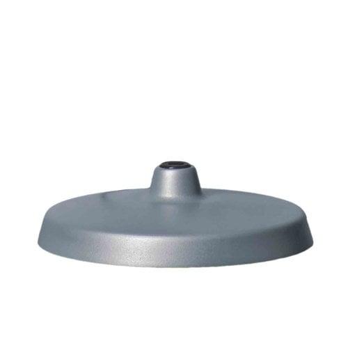 Luxo L-1 lamp base, aluminium grey