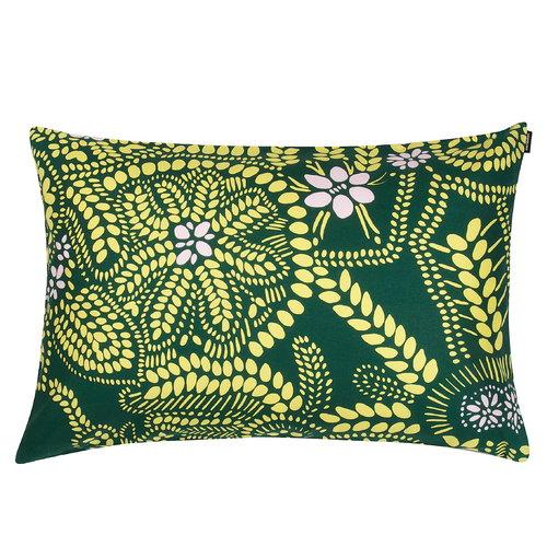 Marimekko N�si� cushion cover 40 x 60 cm, green-pink
