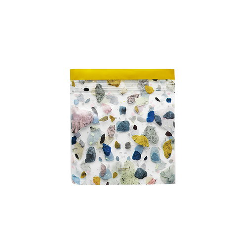 Normann Copenhagen Daily Fiction zip bag, 12 pcs, space stone light