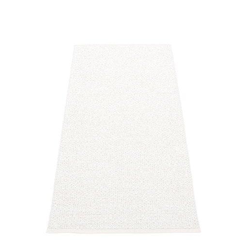 Pappelina Svea matto, 70 x 160 cm, white metallic