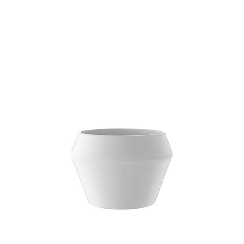 By Lassen Rimm flowerpot, small, white