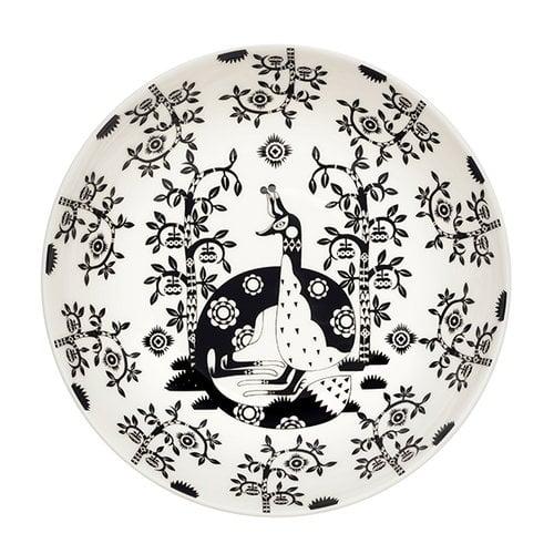 Iittala Taika deep plate 22 cm, deco black