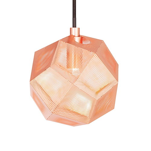 Tom Dixon Etch Mini pendant, copper