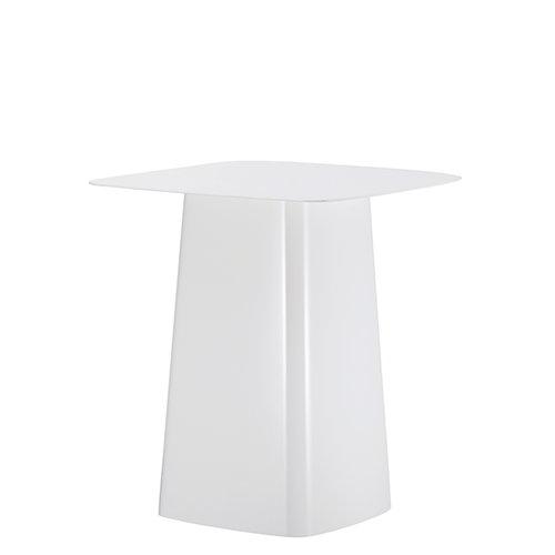 Vitra Metal Side Table, M, valkoinen