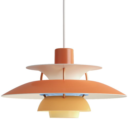 Louis Poulsen PH 5 Mini pendant, orange