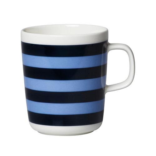 Marimekko Oiva - Tasaraita muki 2,5 dl, tummansininen - vaaleansininen