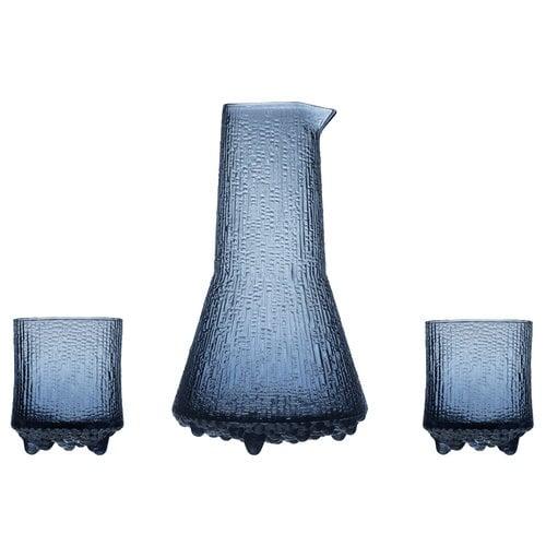Iittala Set Ultima Thule, caraffa 50 cl + bicchieri 20 cl, pioggia