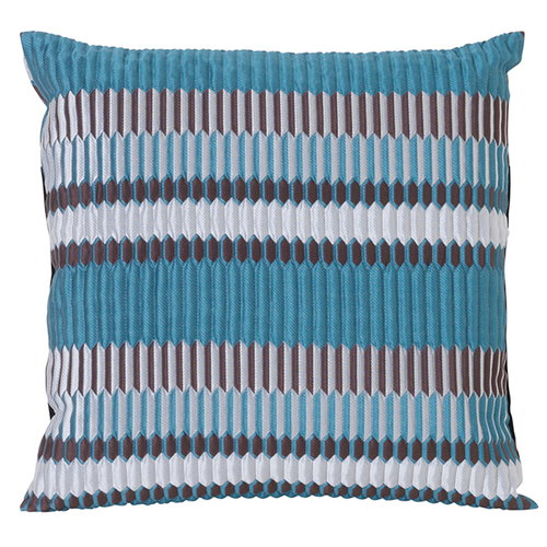 Ferm Living Salon cushion, 40 x 40 cm, Pleat, sea