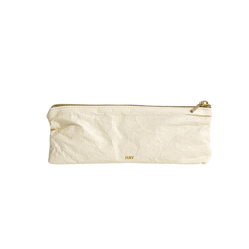 Hay Packing Essentials bag with zip, S, soft yellow
