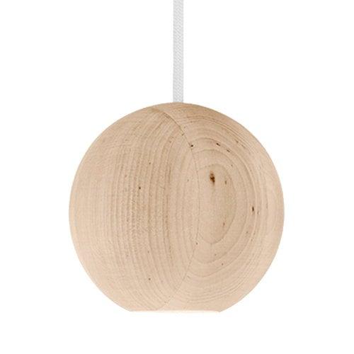 Mater Liuku Base Ball pendant, linden