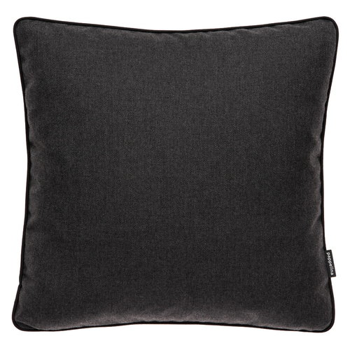 Pappelina Ray outdoor cushion, 44 x 44 cm, sooty