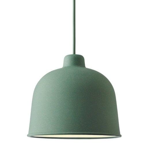 Muuto Grain pendant, dusty green