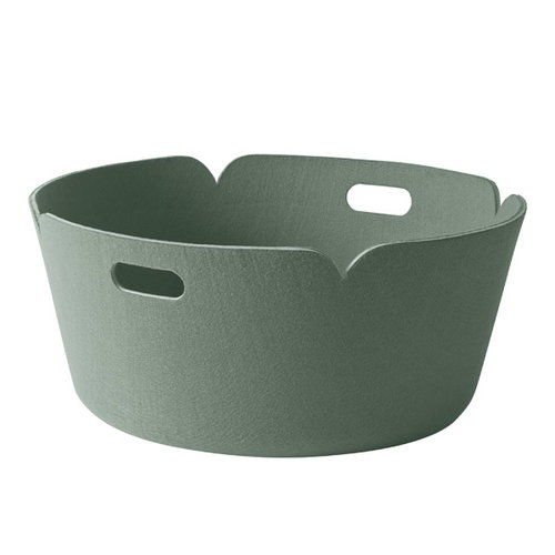 Muuto Restore, py�re� s�ilytyskori, dusty green