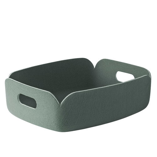 Muuto Restore tray, dusty green