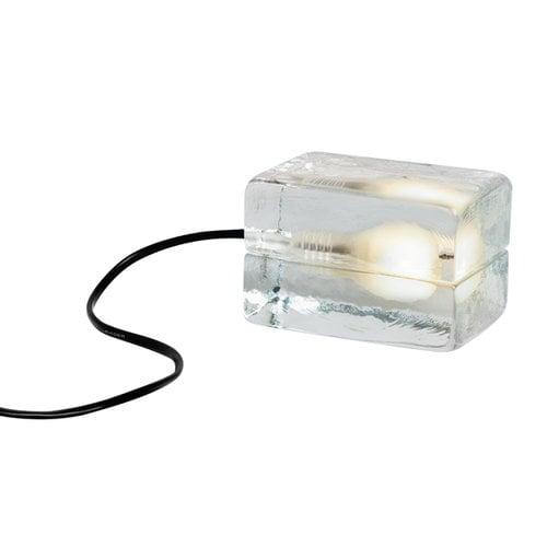Design House Stockholm Mini Block Lamp, black cord