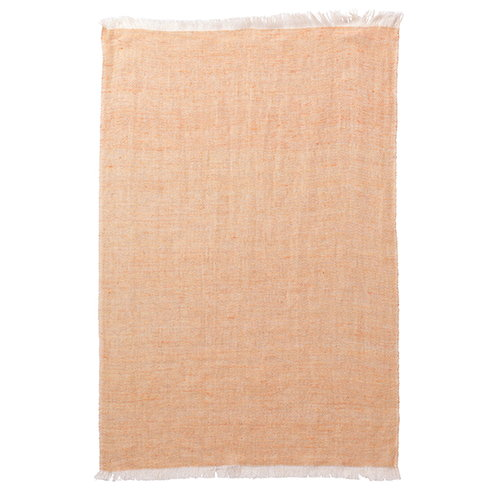 Ferm Living Blend kitchen towel, peach