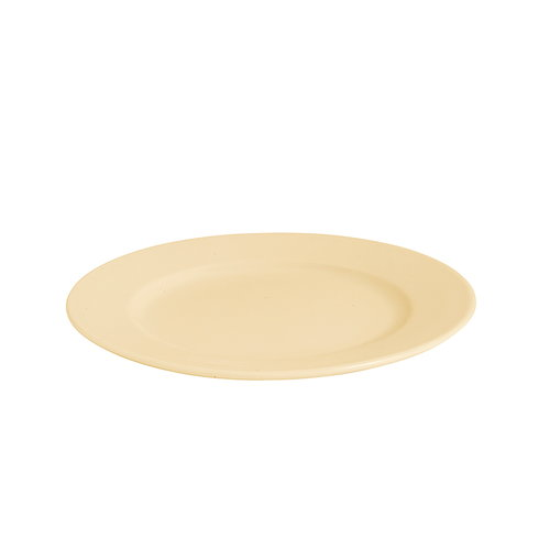 Hay Rainbow lautanen, pieni, lämmin keltainen