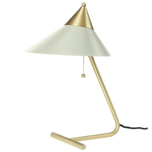 Warm Nordic Brass Top table lamp, warm white