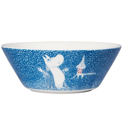 Arabia Moomin bowl, Light Snowfall