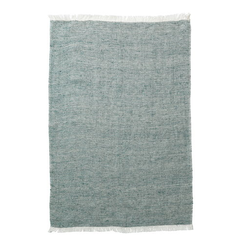 Ferm Living Blend kitchen towel, green