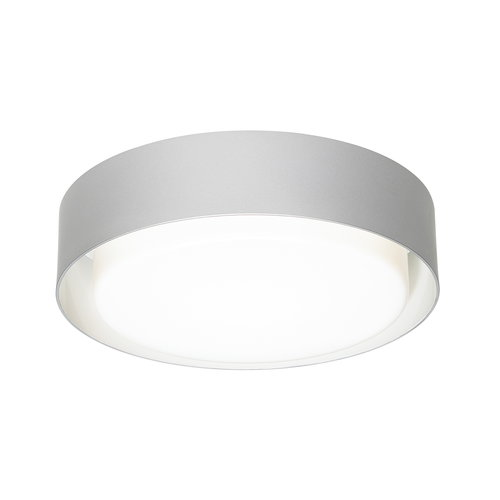 Marset Plaff-On 33 ceiling lamp, silver grey