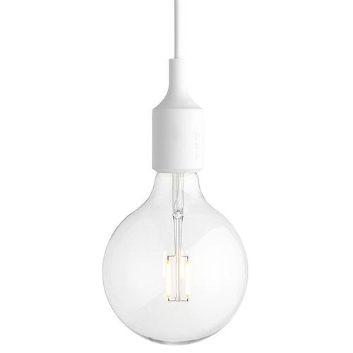 Muuto E27 LED socket lamp, white
