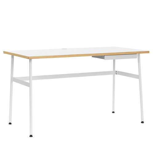 Normann Copenhagen Journal desk, white