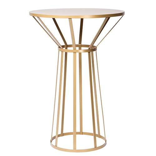 Petite Friture Hollo table, gold