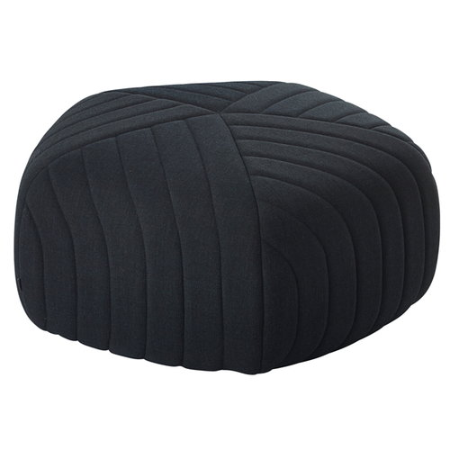 Muuto Five pouf, dark grey - Remix 183