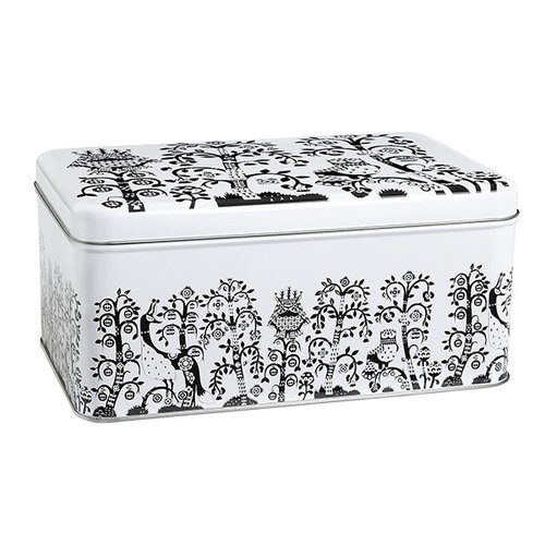Iittala Taika tin box, black