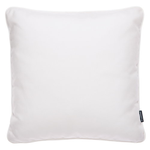 Pappelina Sunny outdoor cushion, 44 x 44 cm, white