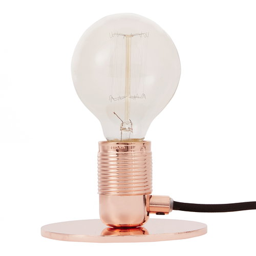 Frama E27 table light, copper