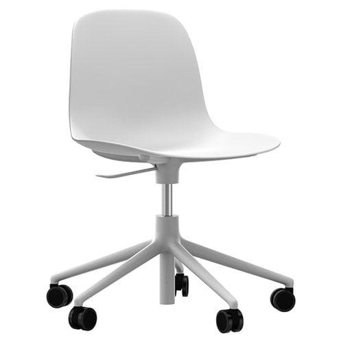 Normann Copenhagen Form Swivel tuoli, valkoinen