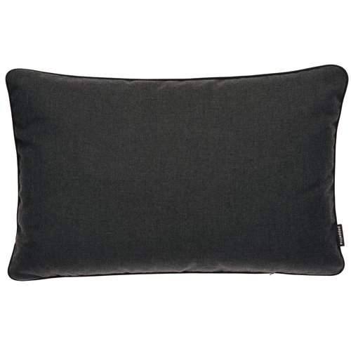 Pappelina Ray outdoor cushion, 38 x 58 cm, sooty