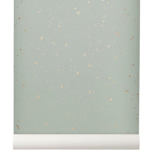 Ferm Living Confetti tapetti, mintunvihre�