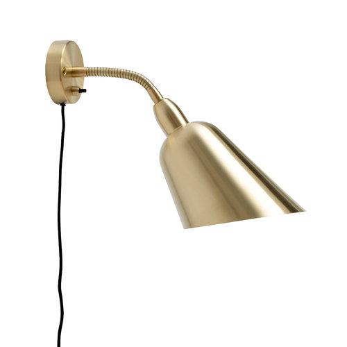 &Tradition Bellevue AJ9 wall lamp, brass