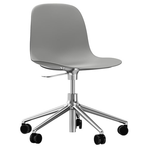 Normann Copenhagen Form Swivel chair, grey