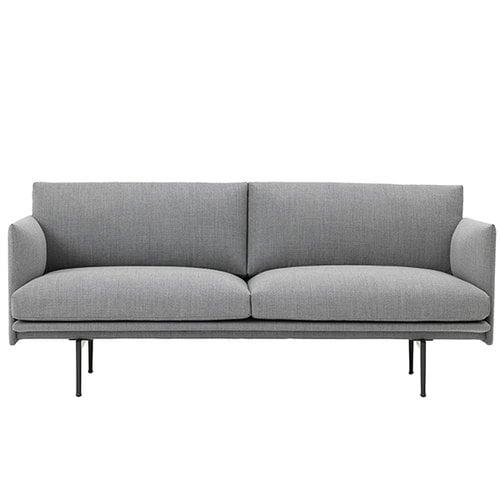 Muuto Outline sofa, 2-seater